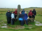 070. Group pose on the finish of the Wolds Way