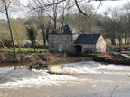 010. Our lunchtime destination at Howsham Mill.