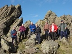 013. Group pose on Helm Crag